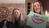Teachers create video to keep pupils' spirits up