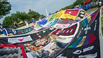 The 'Aids quilt' that showed the scale of suffering