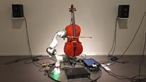 Click News: The cello playing robot