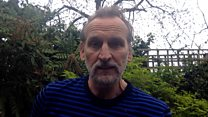 Christopher Eccleston reads a poem for the NHS