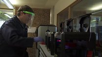 3D printing face masks for NHS workers