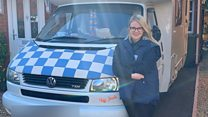 'My parents' campervan is my office during coronavirus'