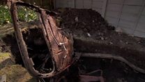 Retro car unearthed in Yorkshireman's back garden