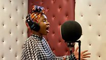 The gospel singer celebrating Easter online