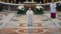 'This is not a time for indifference' says Pope