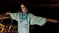 Christ the Redeemer illuminated as doctor