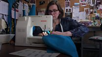 TV costume makers create scrubs for NHS staff
