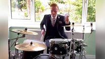 Drumming BBC weather presenter goes viral