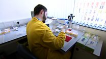 Coronavirus: Testing NHS staff at Sheffield Teaching Hospitals