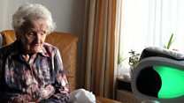 Robots help care home residents stay in touch