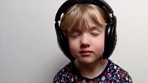 Six-year-old's lockdown song to missed friends