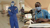 Students making critical medical kits