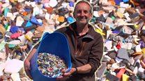 Sifting 40 sacks of beach litter in lockdown