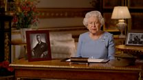 VE Day: The Queen's message