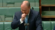 Coronavirus: Josh Frydenberg tested for Covid-19 after coughing fit thumbnail