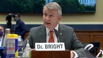 Ousted US vaccine chief's stark warnings on virus