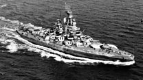 World War Two US Navy ship discovered in Pacific Ocean thumbnail