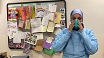 Healthcare workers fasting on the front line