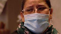 Tears inside Milan's coronavirus quarantine hotel