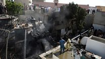 Pakistan airliner crashes in Karachi