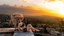 Iranian Parkour athlete arrested over rooftop kiss