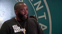 George Floyd death: Rapper Killer Mike's plea to protesters in Atlanta thumbnail
