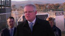 'Get off my grass': Man interrupts Australian PM