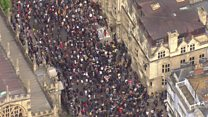 Protesters call for Oxford Rhodes statue removal
