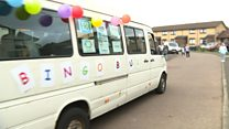 The bus bringing bingo to the streets