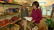 Community shop 'heroes' keep villagers going
