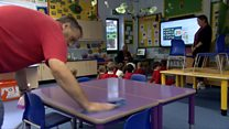 School teaches all pupils on site before summer