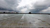 Waste sewage heat will help greenhouse crops grow