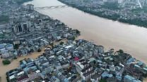 Southern China hit by heavy flooding thumbnail
