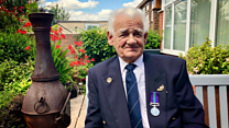 War medal arrives - after a 70-year wait