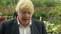 Johnson: 'Signs of a second wave' in Europe