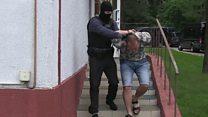 Belarus TV shows arrest of 'Russian mercenaries'
