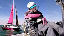 Miss Isle takes on transatlantic sailing challenge