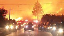 'Firenado' rages in southern California