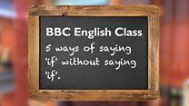 BBC English Class