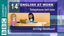 English at Work - 14 - Giving feedback