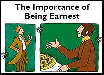 The Importance of Being Earnest inline promo