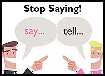 Stop Saying Say Tell inline pr...
