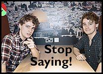 Stop Saying inline promo