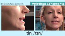 Sounds of English: Voiceless Consonants