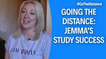 Student Life – Going the distance website image