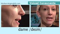 The Sound of English: Voiced Consonants: Dame