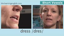 The Sounds of English: Short Vowels: Dress