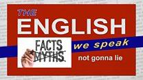 The English We Speak: Not gonna lie: Image