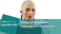 Lingohack: Technology: 10 January 2018: Image with headline