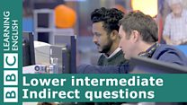 Lower Intermediate indirect questions cover